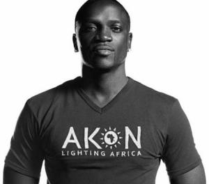 #akon #akonlightingafrica